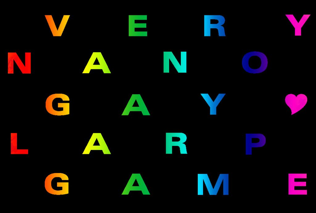 Very Nano Love Larp Gay Games